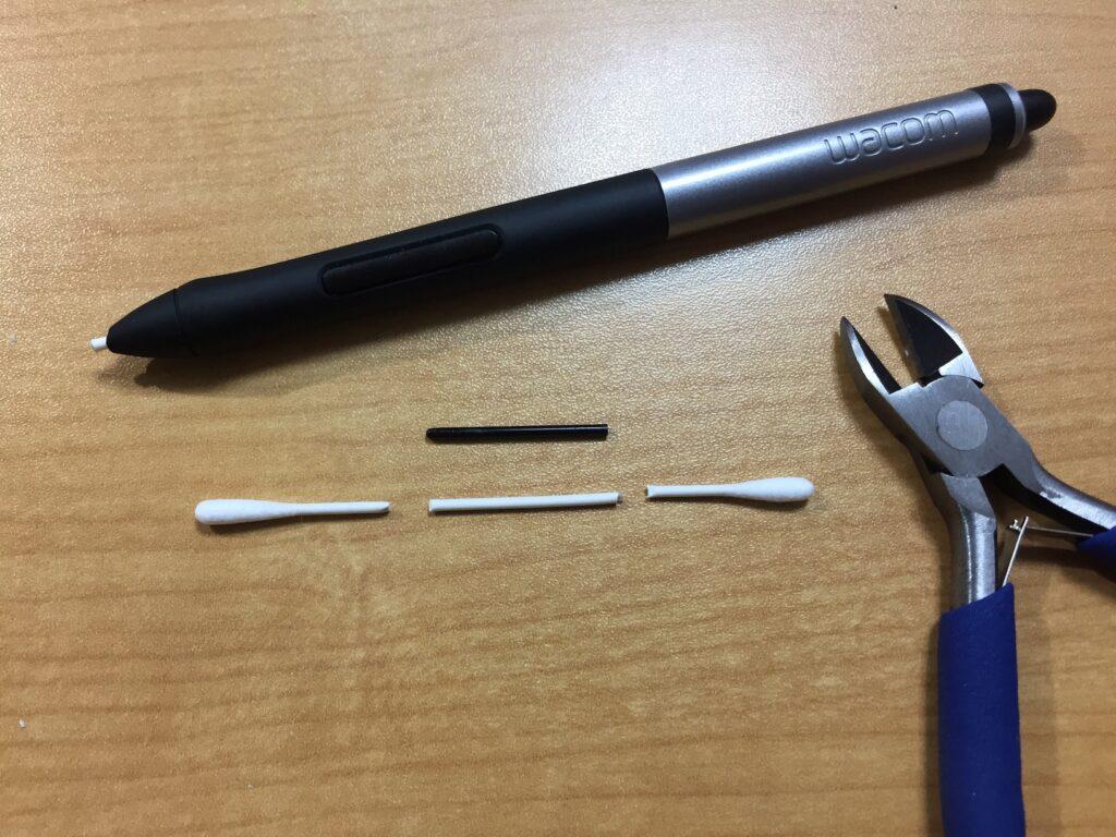 綿棒芯の作り方1