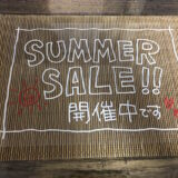 夏の手書きPOP