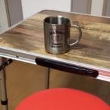 DIYしたキャンプテーブル